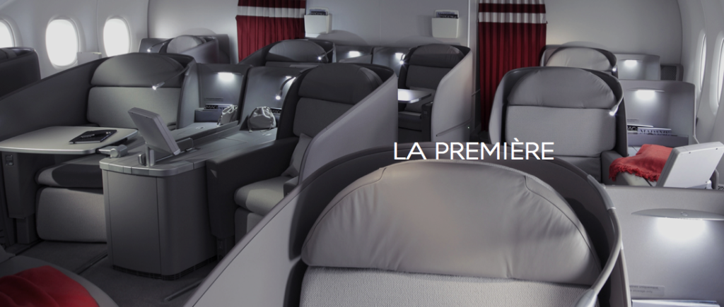 Air France – 1st class